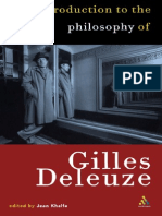 Jean Khalfa-Introduction to the Philosophy of Gilles Deleuze-Continuum (1999)