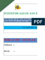 Evaluacion i Semestre Pes Com. ,2,3, - 2015