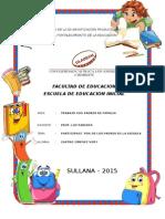 Participacion de Los Padres en La Escuela Mono