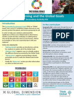 Global Goals Sec Activity Kit