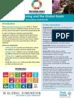 Global Goals Sec Activity Kit