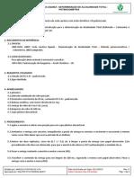 Mal-024 Soda Liquida - Determinacao de Alcalinidade Total - Potenciometria