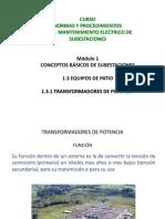 1_3_1 Transformadores de Potencia