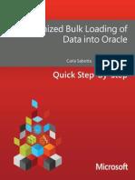 OB Loading Data Oracle