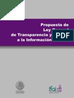 Propuesta de Ley General de TAI