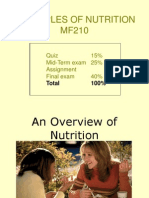 MF210 Fhs Lnt 001 Overview of Nutrition Sep10