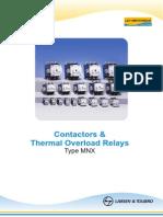 Three Pole Contactors MNX