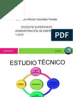 Estudio Tecnico usca  EPS 1 - 2015