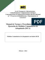 Manual de Normas de Procedimientos Mca Del Prestamo 2091