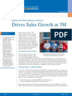 Reduced Defects Sales Growth 3m