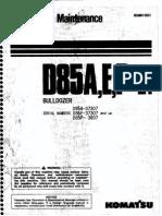 D85A,E,P-21 O&M