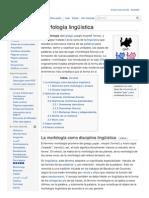 Es Wikipedia Org Wiki Morfología Lingüística