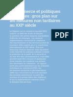 Commerce Et Politiques Publiques Gros Plan Sur Les Mnt Omc