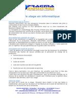 Stage 2010 Base de données