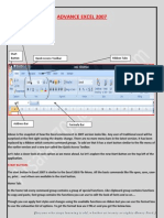 Advance Excel Notes Detailed 2007