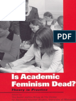 The Social Justice Group Is Academic Feminism Dead.pdf