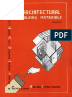 Architectural Building Materials