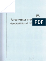 Dr. Illyés Sándor - Gyógypedagógiai Alapismeretek - 329. oldaltól