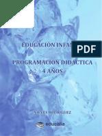 Educación infantil. Programación didáctica 4 años