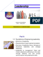 Chapter 1- Leadership