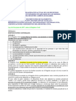 Por La Ley Tema 29-30 Tramitacion 25 Auxilio Registro Civil