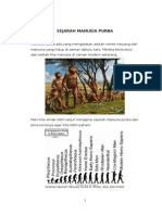 Artikel Sejarah Manusia Purba
