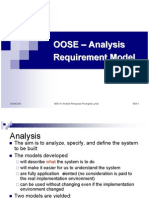 OOSE - Analysis Req