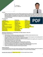 Muhammad Shariq - Manager Finance
