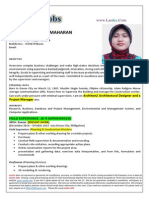 Ms. Sharief Maharan - Civil Architect, Site Supervisor, Autocad Operator, Estimator Philipino