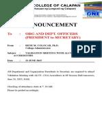 Organizational Meeting of Students_17june2015