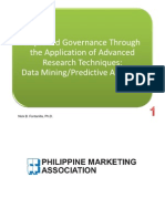 Improved Governance Through the Application of Advanced Research Techniques Data Mining and Predictive Analytics - Dr. Nick a