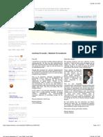 Isla Viveros - Newsletter June 2008 - andre beladina - panama
