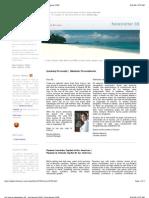 Isla Viveros - Newsletter September 2008 - andre beladina - panama