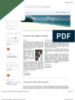 Isla Viveros - Newsletter October 2008 - andre beladina - panama