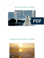 Consequences of Global Warming - Power Point