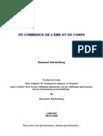 DU COMMERCE DE L'ÂME ET DU CORPS - Emanuel Swedenborg