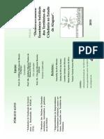 Folder Inicial Economia Solidária