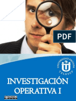 Investigación Operativa I