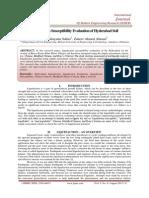 Liquefaction Susceptibility Evaluation of Hyderabad Soil