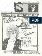 Minneapolis Alternative Scene, Issue 7, February 1989