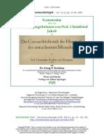 Prof. Christfried Jakob in 'Die Cytoarchitektonik der Hirnrinde des erwachsenen Menschen'