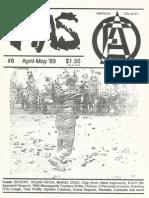 Minneapolis Alternative Scene, Issue 8, April/May 1989