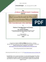 The Comments on Professor Christfried Jakob's Contributions made in 'Die Cytoarchitektonik der Hirnrinde des erwachsenen Menschen'