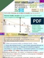 Formulele lentilelor in Conventiafizica Si Probleme (1)