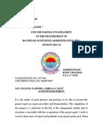 Import Procedure Final