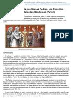 Matrimônio e Família Nos Santos Padres, Nos Concílios Particulares e Nas Coleções Canônicas b