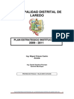 PLAN 11315 Plan Estrategico Institucional 2011