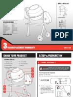 CMX-125 Manual Online