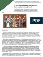 Matrimônio e Família Nos Santos Padres, Nos Concílios Particulares e Nas Coleções Canônicas