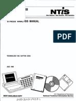 Stress Analysis Manual